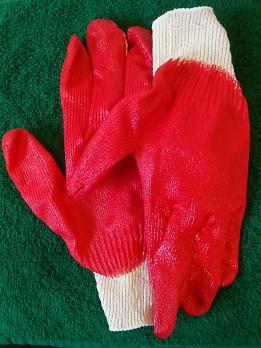 Перчатки х/б 1-ый облив
